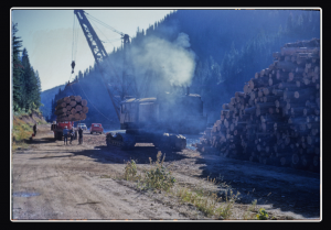 North Fork Clearwater River 1962, Red Helton Photo Credit